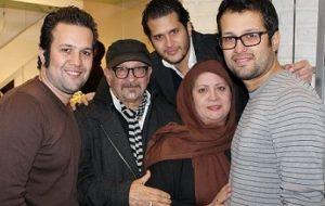 سیاوش خیرابی و خانواده اش