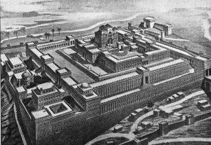 نمای موجود از معبد اورشلیم به روایت کتابهای عهد عتیق