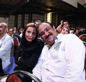 مهران غفوریان و همسرش