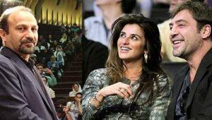 پنه لوپه کروز و همسرش