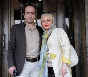 عکس عارف لرستانی و همسرش