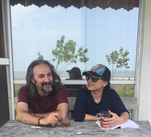بهنام معیریان و همسرش ریتا اصغرپور