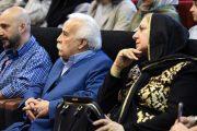 جلالالدین معیریان و همسرش + عکس