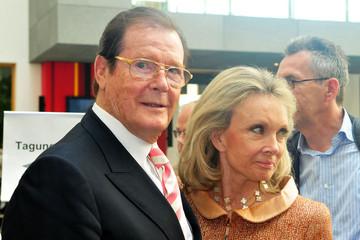 راجر مور و همسر چهارمش