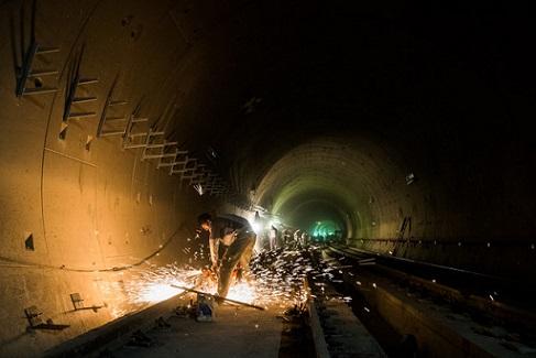 ریزش کارگاه مترو در تهران (خط هفت مترو تهران)