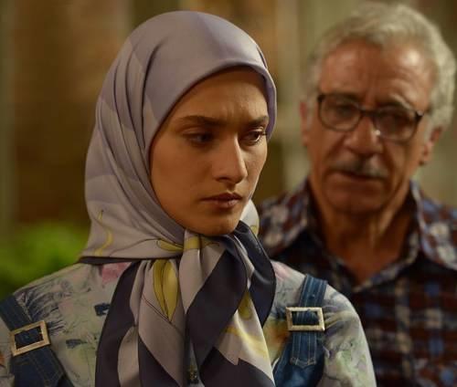 ساناز سعیدی نقش ناهید در سریال نفس