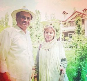 سولماز اعتماد و همسرش