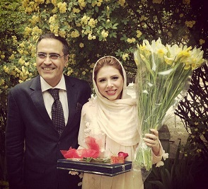 عکس بهزاد خداویسی و همسرش سولماز اعتماد