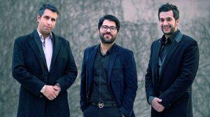 عکس سامان امامی ، حامد همایون و محسن رجب پور