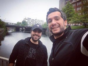عکس سامان امامی و حامد همایون