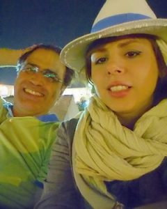 عکس سولماز اعتماد و همسرش