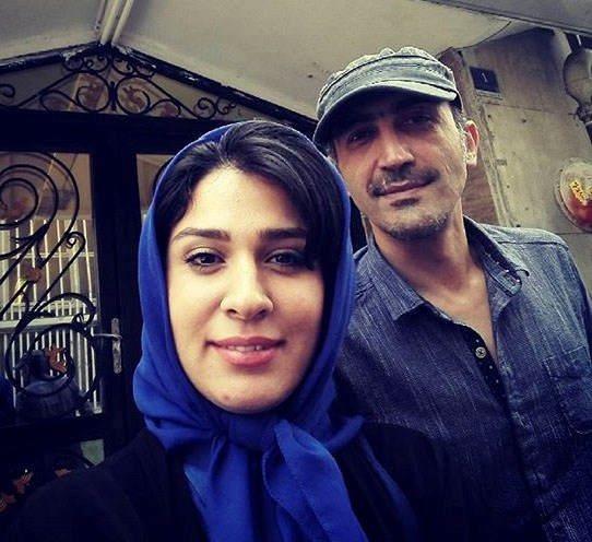 هادی حجازی و همسرش