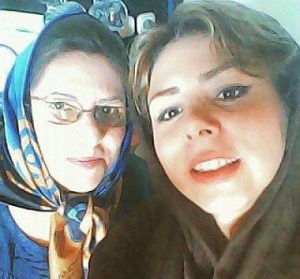 عکس همسر بهزاد خداویسی و مادرش (سولماز اعتماد)