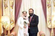 بیوگرافی علی اوجی و همسرش + عکس