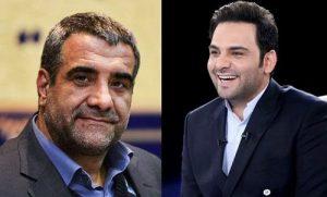 احسان علیخانی و برادرش رضا حسنی خو