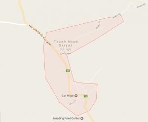 تازه آباد سریاس