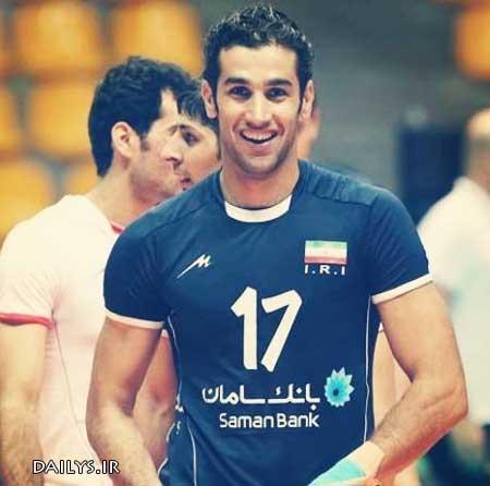 بیوگرافی رضا قرا (پشت خط زن تیم ملی والیبال) + عکس همسر