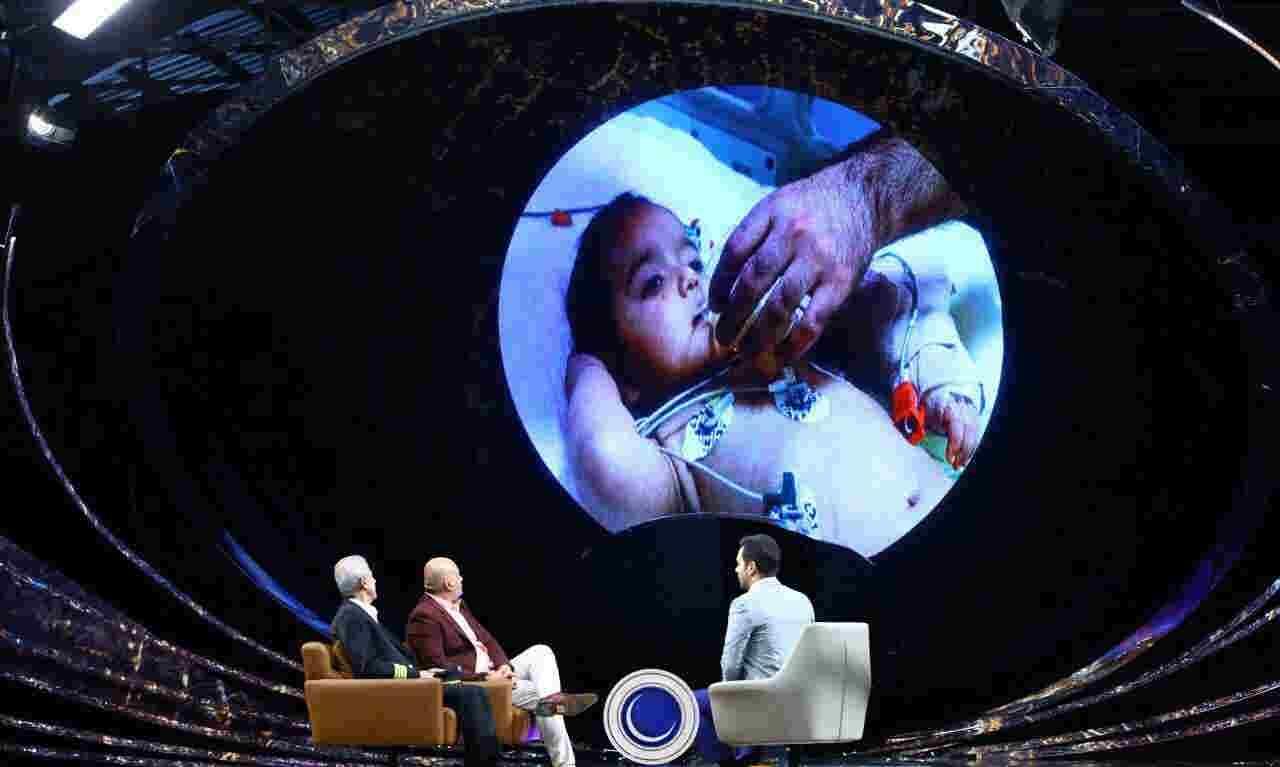 داستان نجات دست قطع شده نوزاد ۱۳ ماهه (ساجد) در ماه عسل