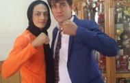 شهربانو منصوریان و همسرش + عکس