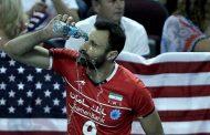 شماره ۹ تیم ملی والیبال ایران (عادل غلامی - دفاع وسط / سرعتی زن )