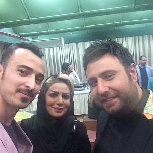 عکس فرهاد نظری افشار و همسرش در کنسرت علیزاده