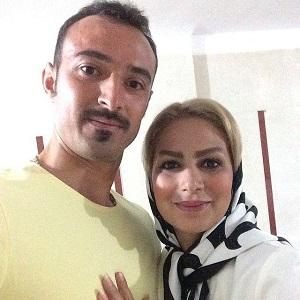 عکس فرهاد نظری افشار و همسرش