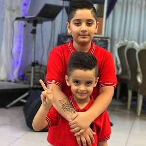 عکس پسران فرهاد نظری افشار