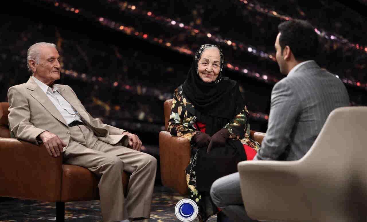 فرنگیس و محمد (پیرمرد و پیرزن) در ماه عسل