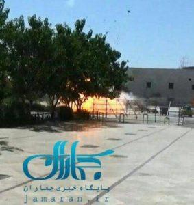 لحظه انفجار در حرم امام خمینی
