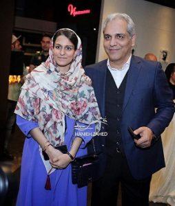 مهران مدیری و دخترش شهرزاد مدیری