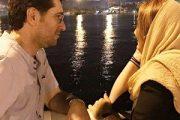 امیرحسین مدرس و همسرش + عکس