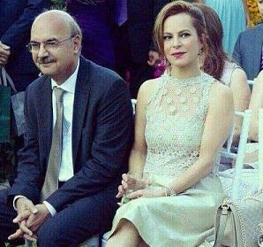 ایرج طهماسبی و همسرش مرجان مدرسی
