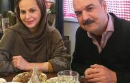 ایرج طهماسب و همسرش مرجان مدرسی