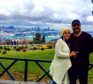 بهنام بانی و همسرش