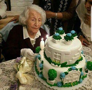 جشن تولد ۱۰۰ سالگی دکتر مهلقا ملاح