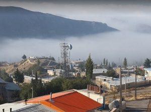 جیرنده در مه