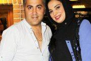 روشنک عجمیان و همسرش مهریار حمیدی +عکس