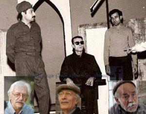 سعید پورصمیمی، پرویز پورحسینی و جمشید مشایخی