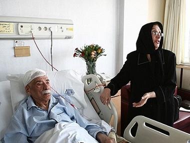 سودابه عظیمی همسر عطاالله بهمنش