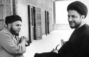 عکس امام موسی در کنار پسر عموی شهیدش محمدباقر صدر