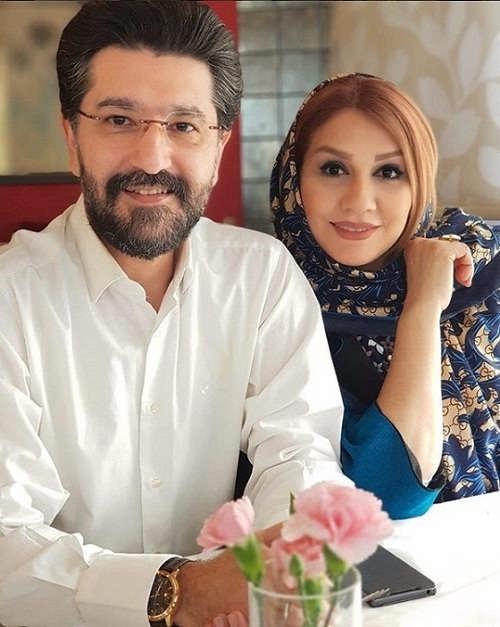 عکس امیرحسین مدرس و همسرش بهار بهاردوست۲