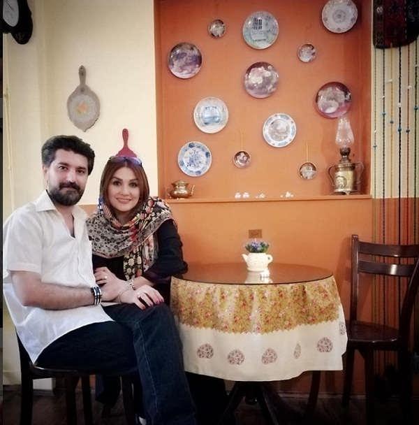 عکس امیرحسین مدرس و همسرش بهار بهاردوست۳