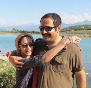 عکس بهادر مالکی و همسرش نگار شهبازی