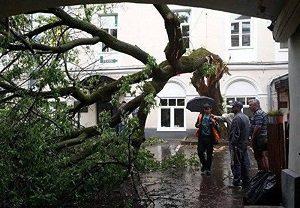 عکس طوفان مسکو
