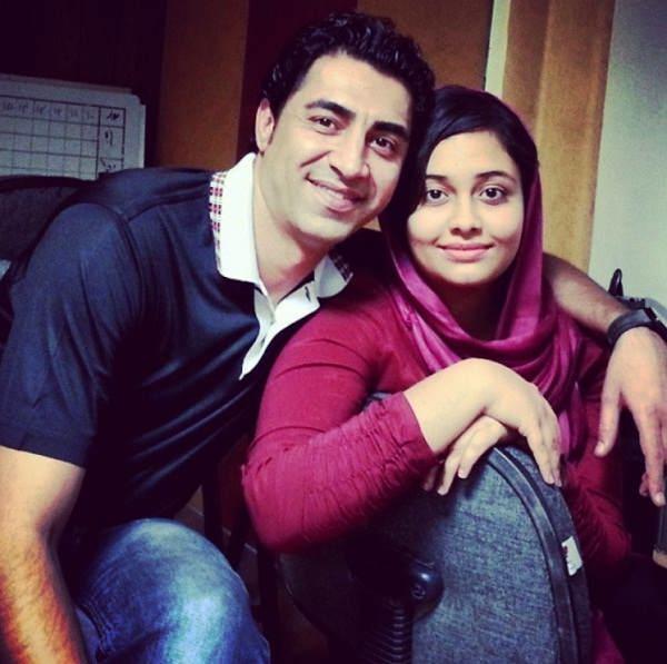عکس محمد علیمردانی و دخترش سارا