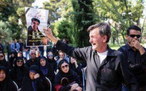 عکس مراسم خاکسپاری محمود جهان