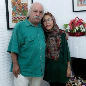 عکس پدر و مادر آذرخش فراهانی