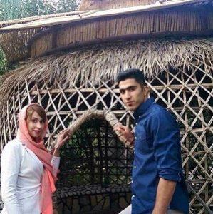 مجتبی میرزاجانپور و همسرش