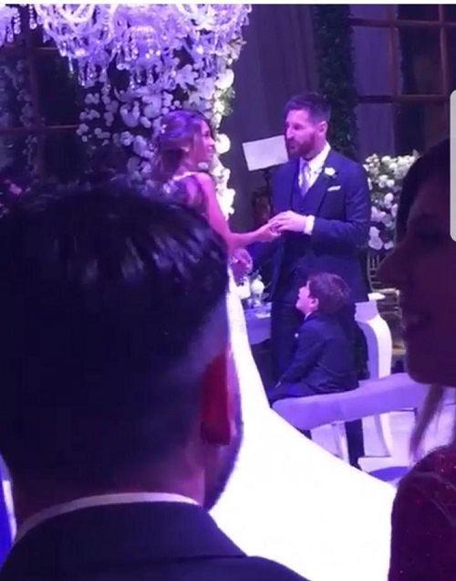 عکس مراسم ازدواج مسی