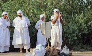 مراسم تعمید اقلیت صابئین مندایی در اهواز